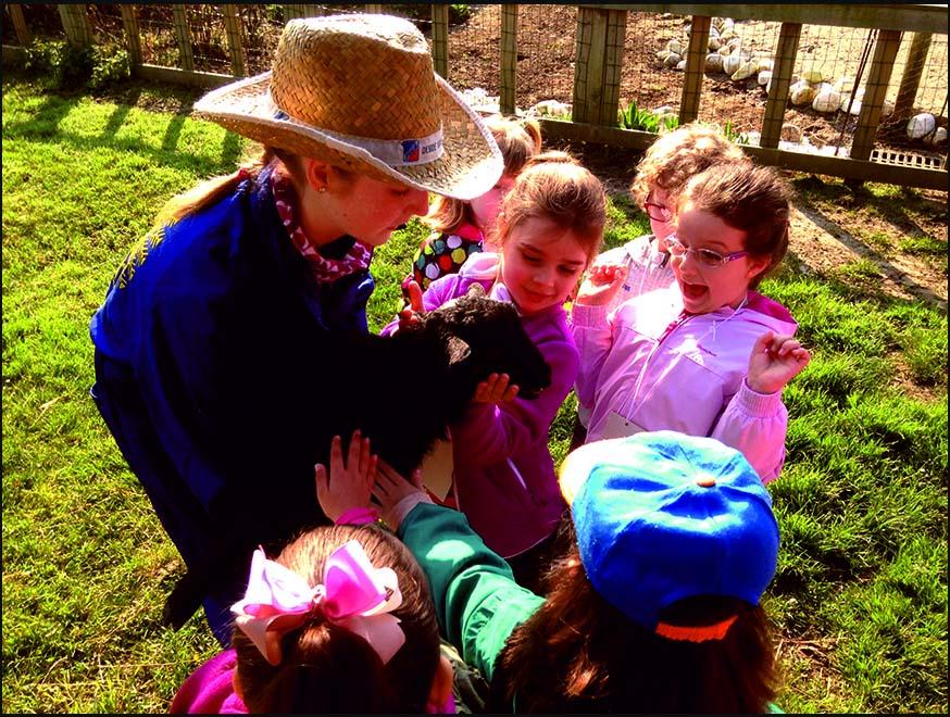 cumpleaños en granja escuela