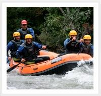rafting en Cantabria, aventura y turismo activo