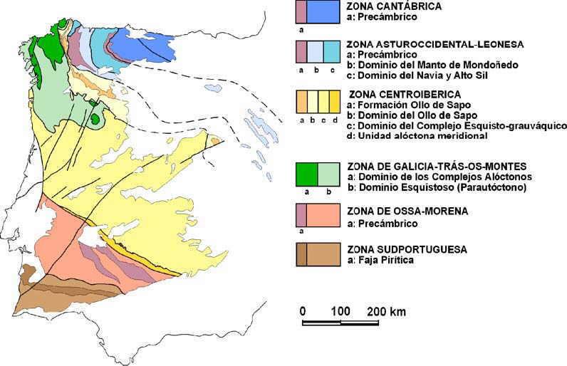 orogeno varisco en iberia