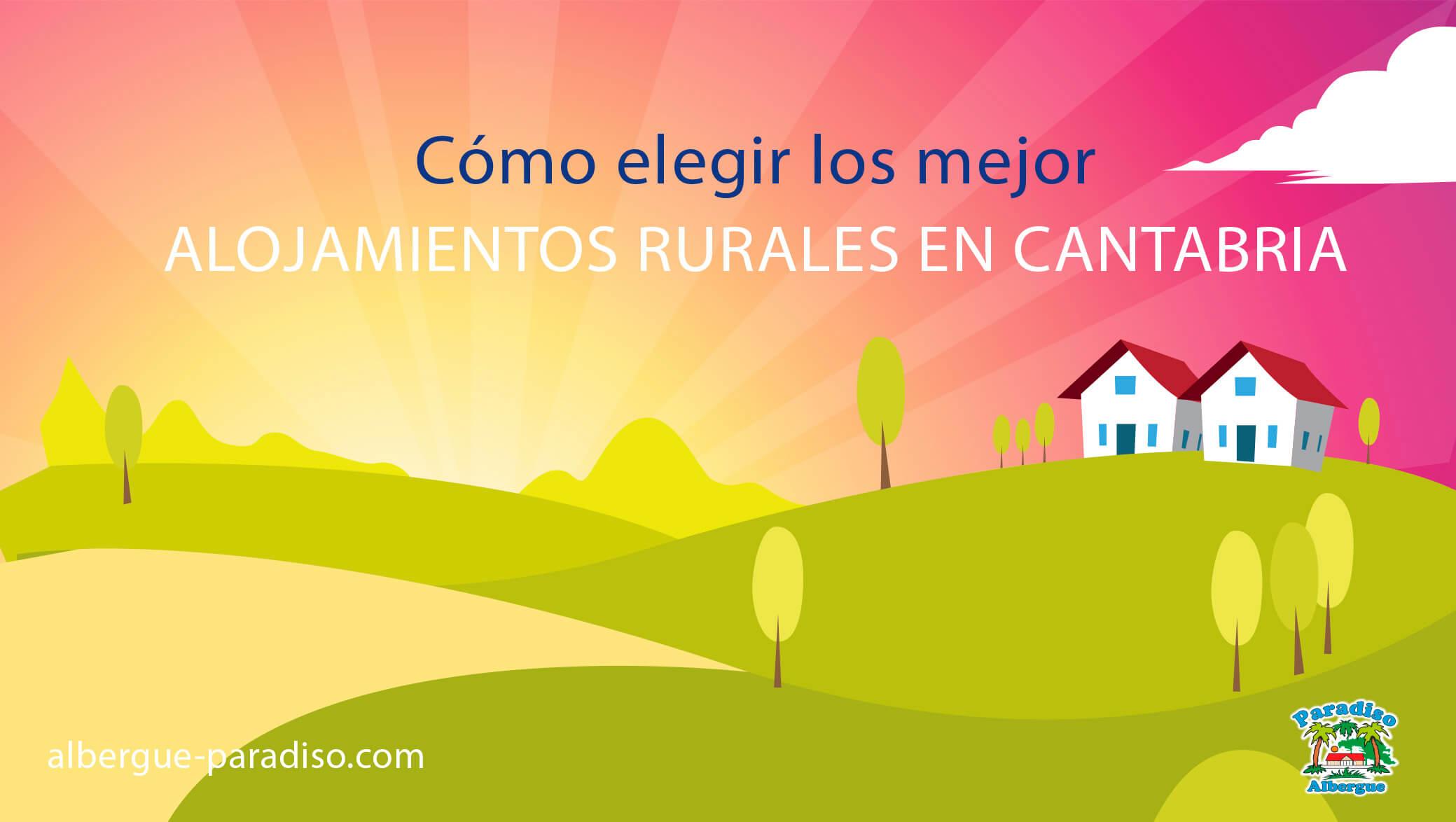alojamientos rurales en cantabria
