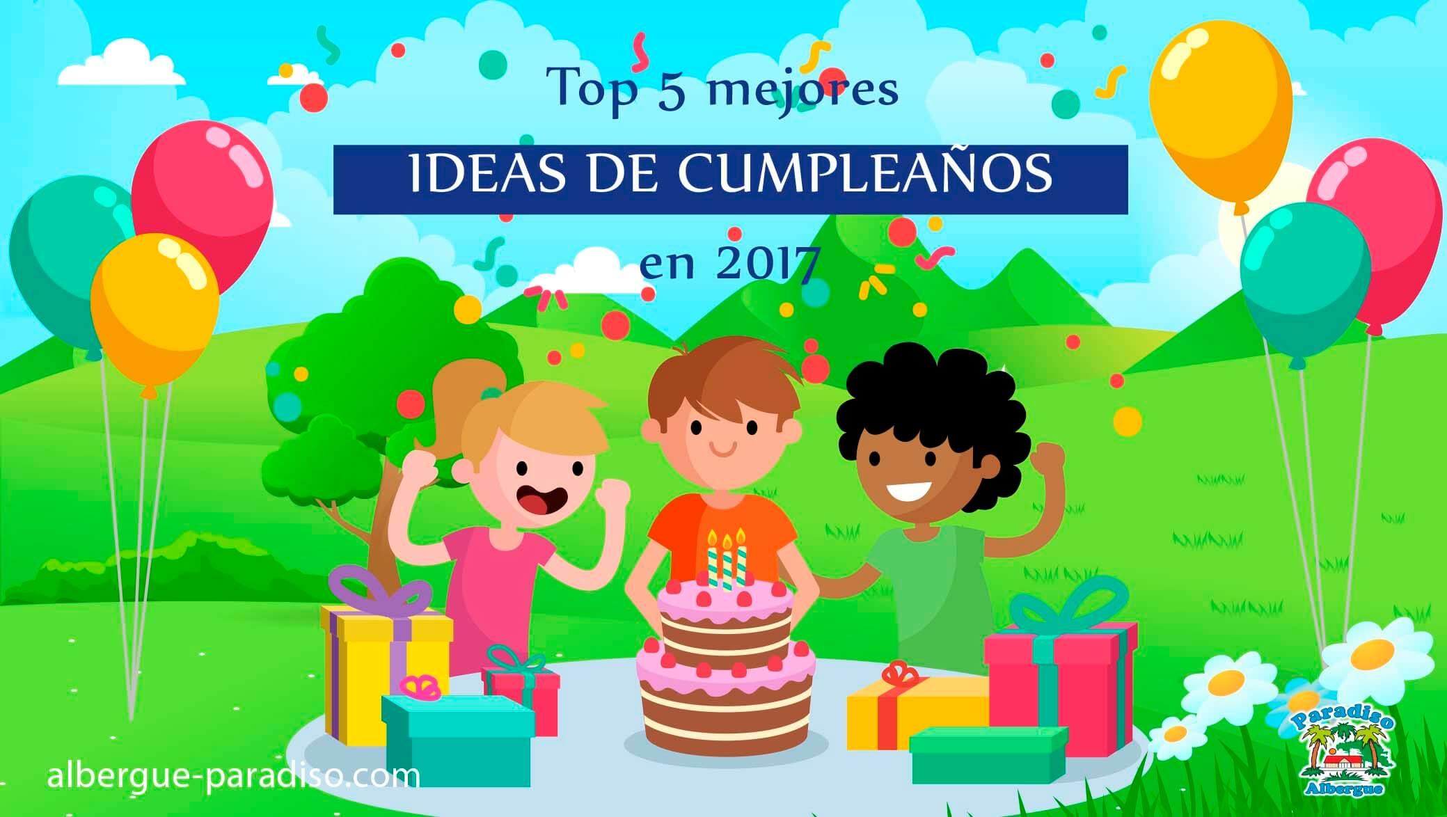 ideas de cumpleaños para niños
