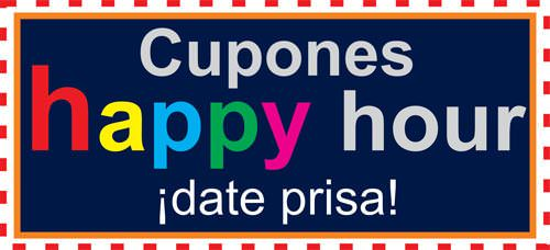 cupones happy hour
