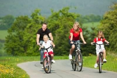 rutas en bici en familia
