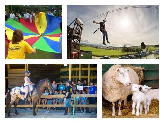 reservar online en la web del albergue paradiso actividades de aventura y talleres