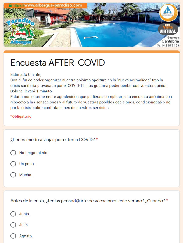 encuesta AFTER-COVID